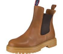 Chelsea Boots braun / schwarz