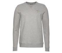 Sweatshirt blau / hellgelb / graumeliert