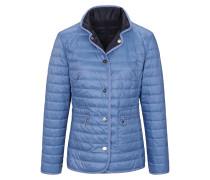 Jacke rauchblau / nachtblau