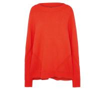 Pullover 'peony' orangerot