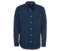 Jeanshemd 'slhslimnolan Shirt LS MIX W'
