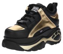 Sneaker gold / schwarz