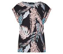 Shirt 'low-264' blau / koralle