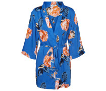 Kimono blau / orange
