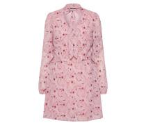 Kleid rosa / burgunder