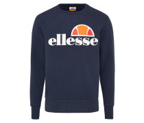Sweatshirt 'succiso' dunkelblau / weiß