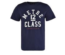 T-Shirt '12M Class' navy / rot / weiß