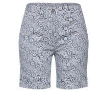 Shorts 'Salvi Bermuda' blau / weiß