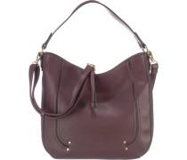 Handtasche 'Tiziana' rotviolett