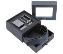 Geschenkbox 'Gion' 3tlg. schwarz