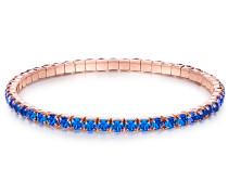 Armband Glaskristall blau