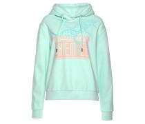 Sweatshirt mint / rosa
