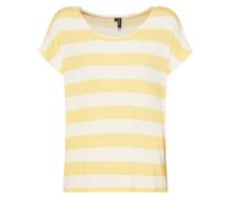 Shirt gelb / weiß