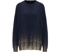 Pullover marine / gold