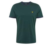 T-Shirt 'Ringer' navy / jade