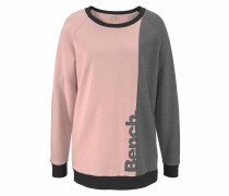 Sweater grau / rosa