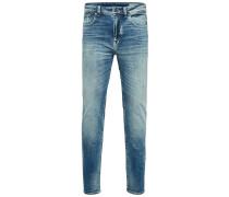 Slim Fit Jeans '6111' blau
