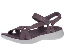 Sandale 'On-The-Go 600' aubergine