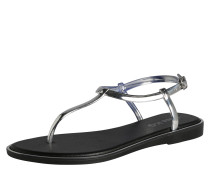 Sandalen 'delta' schwarz / silber