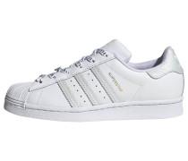 Sneaker 'Low' weiß / grau
