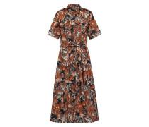 Kleid 'Piecette' braun / schwarz