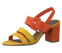 Sandalette gelb / rot