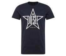 Shirt 'Diego' navy / weiß