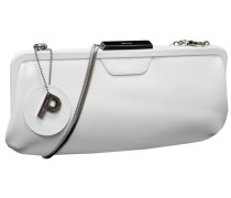 Auguri Damentasche Leder 34 cm weiß
