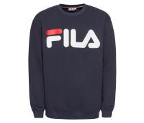 Sweatshirt 'Classic logo Sweat' blau / weiß