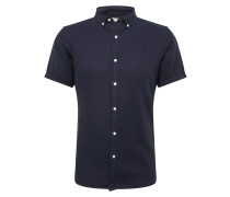 Hemd 'Short sleece twill shirt/Vegan'