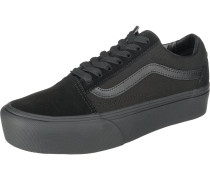 Old Skool Platform Sneakers schwarz