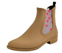 Chelsea Boot 'mia' mit pinken Herzchen