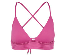 Bikinitop 'Quilted Tri' pink