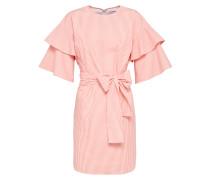 Kleid 'Alda' rosa / weiß