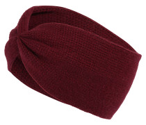 Stirnband mit Kaschmir bordeaux
