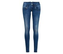 Jeans mit Kontrastnähten 'Pitch'