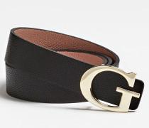 Gürtel 'Analise' gold / schwarz