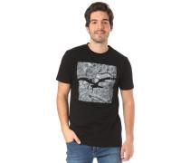 Elbmöwe T-Shirt grau / schwarz