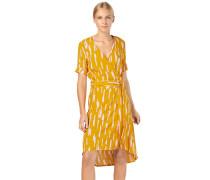 Kleid 'Nude' gelb / rosa / weiß