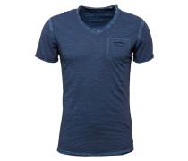 T-Shirt 'Soda' mit V-Ausschnitt