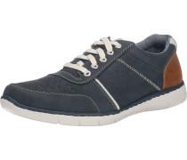 Freizeit Schuhe navy / braun