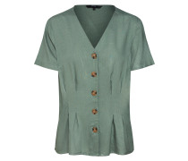 Damen - Blusen & Tuniken 'vmcandice S/S Midi Button Shirt Wvn'