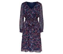 Kleid nachtblau / mischfarben