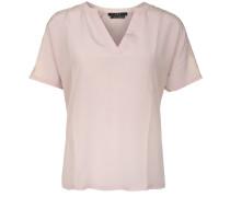 T-Shirt mit Spitzenverzierungen puder