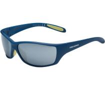 'shiny' Sportbrille himmelblau