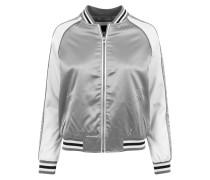 Jacket schwarz / silber / offwhite