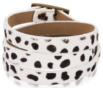 Armband braun / weiß