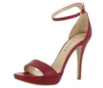 Sandalette 'valeria' bordeaux