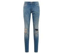 Jeans 'loom' blue denim