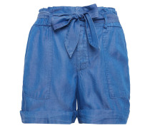 Relaxed Jeans Shorts royalblau